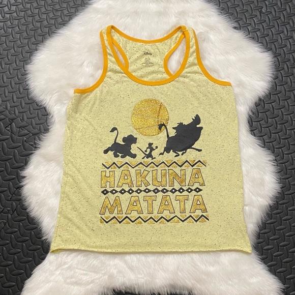 "Disney lion king ""hakuna matata"" tank top"